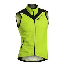 fluorescent cycling jacket monton windproof waterproof fluorescent orange cycling vest