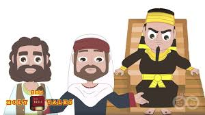 moses speaks to the pharaoh book of exodus animated children u0027s