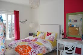 diy bedroom red and black wall decor home design ideas