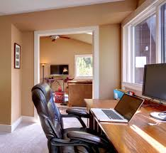 home office with tv how to pack your home office