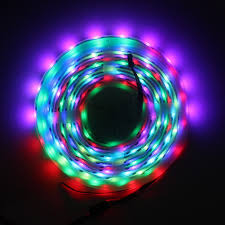 black light led strip amazon com led world ws2801 32led m 5050 rgb led strip light