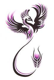 collection of 25 phoenix tattoo designs