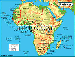 africa map elevation africa continent elevation digital map from maps