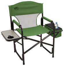 Folding Directors Chair With Side Table Bass Pro Shops Folding Directors Chair With Side Table And Cooler