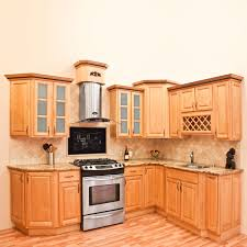 Complete Kitchen Cabinet Packages All Solid Wood Kitchen Cabinets Cherryville 10x10 Rta Ebay