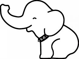 coloring pages surprising elephant drawing easy maxresdefault
