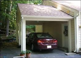 attached carport carport maybe the leaning should go more with the slope of the