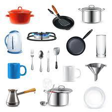 Kitchen Utensils Design by Kitchen Utensils Design Elements Vector Set 01 Vector Life Free
