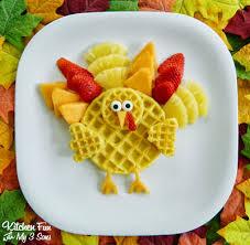 turkey breakfast gobble gobble up some waffles kitchen