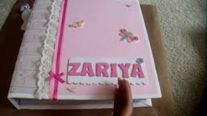 baby girl scrapbook album baby girl scrapbook