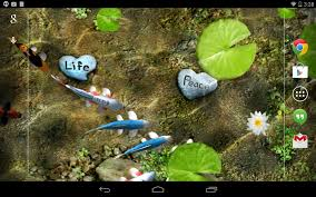 koi live wallpaper android apps on google play