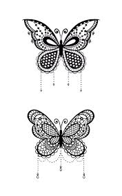 lace butterfly search tattoos lace