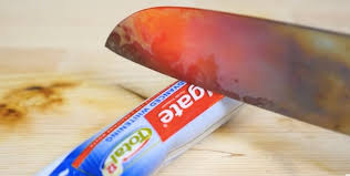 Meme Degree - the glowing 1 000 degree knife vs everything meme is red hot