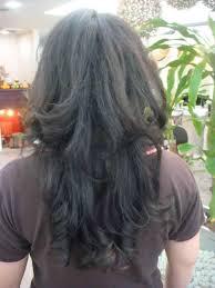 back view of choppy layered haircuts choppy flickr loe my hair pinterest layers flickr long v layered