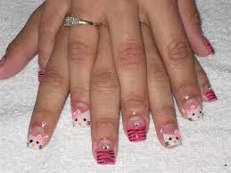 hello kitty 3d bow nail art gallery