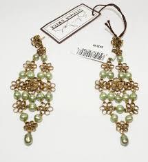 stephen dweck green pearl u0026 bronze trellis earrings on tradesy