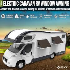 Rv Window Awning New Electric Caravan Rv Window Awning Remote 1m Wide Italian