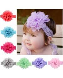 kids hair accessories amazing deal 12pcs 4 3in lace flower headbands coxeer ribbon
