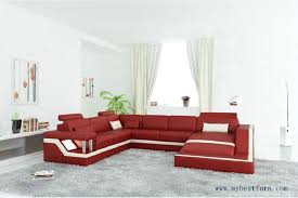red leather sofas for sale free shipping modern sofa u shaped passion red sale genuine