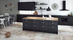 cuisine noir bois cuisine 28 idées de design contemporain formidable