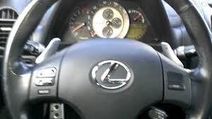 lexus steering wheel is300 to is350 steering wheel mod youtube