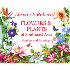 e flowers and plants of southeast asia sketches and paintings