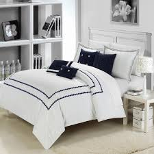 Anchor Comforter Total Fab Navy Blue And White Comforter And Bedding Sets