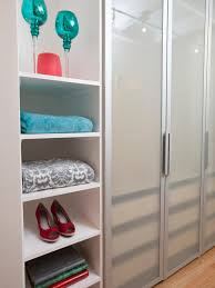 Design A Closet Tips For Organizing A Small Reach In Closet Hgtv U0027s Decorating