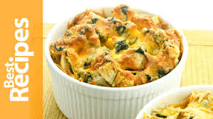 cheddar cheese and spinach strata best recipes with drew maresco