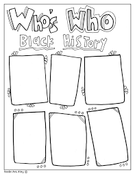 printable history quotes black history month printables classroom doodles