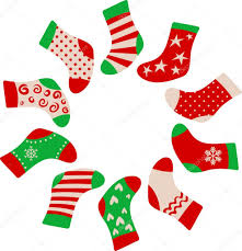 christmas stockings u2014 stock vector marish 3907442