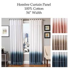 Two Tone Curtains Hombre Gradient Two Tone Curtain Drapery Panels Www