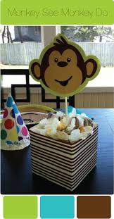 monkey decorations for baby shower monkey themed birthday party ideas in blume