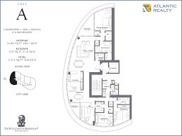 a floor plan the ritz carlton residences miami florida homes