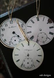 eab designs clock ornaments