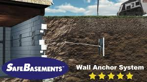 safebasements wall anchors foundation repair youtube