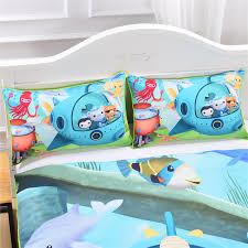 octonauts bedding duvet cover kids bedding soft funny bedding gift