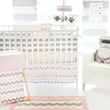 Pink Chevron Crib Bedding Decoration Pink Chevron Nursery Bedding My Baby Crib Set And Grey