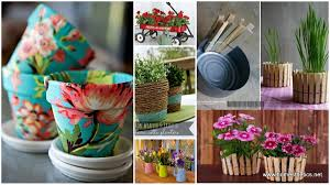 creative diy herbs u0026 flower pots for your home