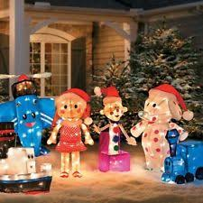 Outdoor Christmas Decorations Ottawa by Outdoor Train Ebay