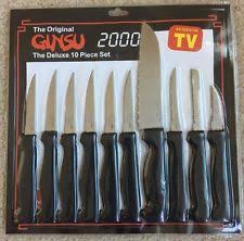 ginsu kitchen knives ginsu kitchen and steak knives ebay