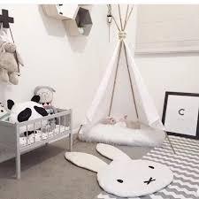 nouveau jeu occasionnel tapis lapin rer couverture carpet étage