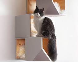 modern cat furniture etsy