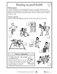 keeping up good health worksheets u0026 activities greatschools