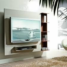 Wall Mount Tv Cabinet Furniture Wall Mounted Tv Cabinet And Open Shelf Combined With