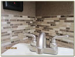 backsplash peel and stick install tiles on adhesive sheets