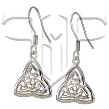 lightweight earrings sensitive ears celtic triquetra surgical stainless steel earrings for sensitive ears