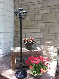 Patio Solar Lights Repurposed Ls Into Patio Solar Lights Hometalk