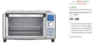 Easy Clean Toaster The Best Toaster Ovens Under 150 U2013 Top 5 On Amazon Prime U2013 Food