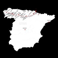 Camino De Santiago Map Camino Stages Camino De Santiago For Australians U0026 New